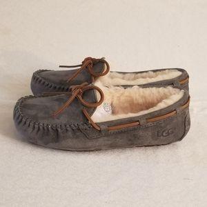 Ugg Women's Dakota Moccasin Leather Slippers